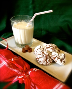 Chocolate Caramel Crackle Cookies