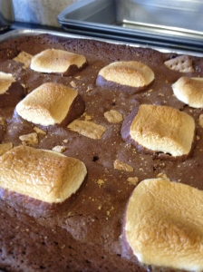 Toasted S'mores Brownies