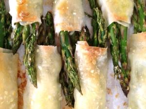Limoncello Asparagus Spears