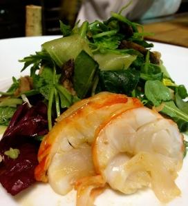 Grilled Lobster Salad