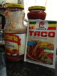 Salsa and Taco Mix