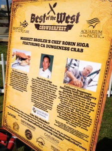 Chowder Fest Chef Display