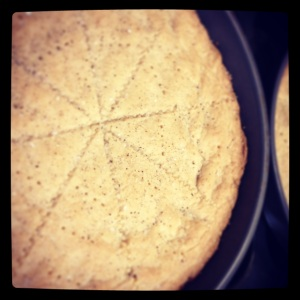 Vanilla Sugar Shortbread
